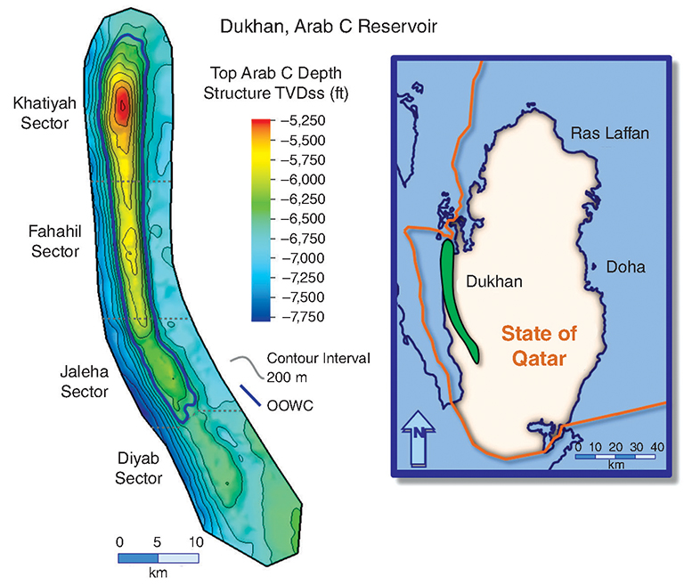JPT Tapping Difficult Oil in a Giant Carbonate Field in Qatar