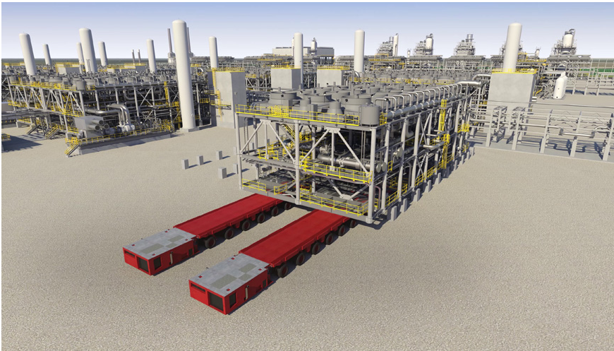 OGF Article Kiewit Wins EPIC Contract for Calcasieu Pass LNG