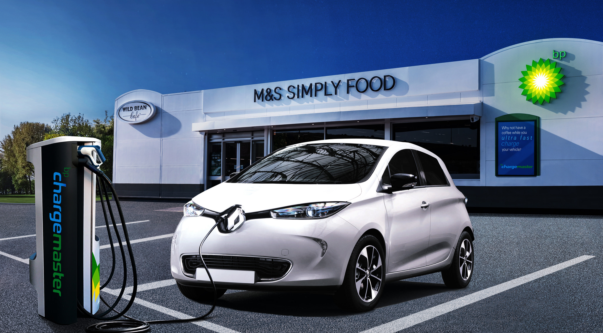 What S Driving Oil Companies To Electric Car Charging Firms