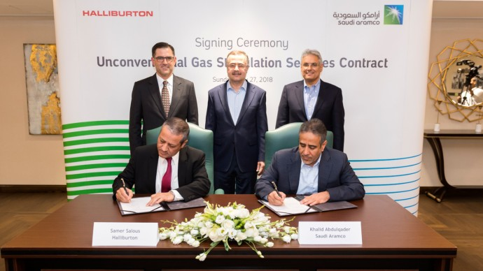 JPT Saudi Aramco, Halliburton Sign Landmark Deal