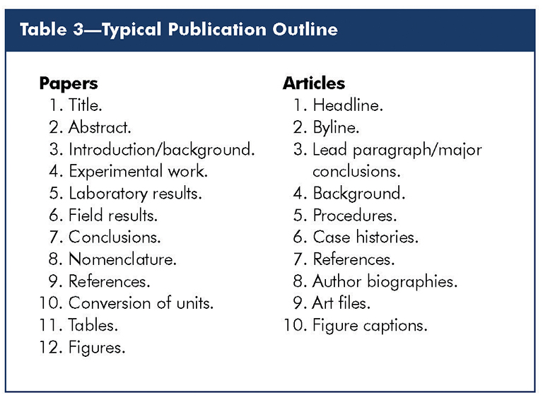 journal style paper