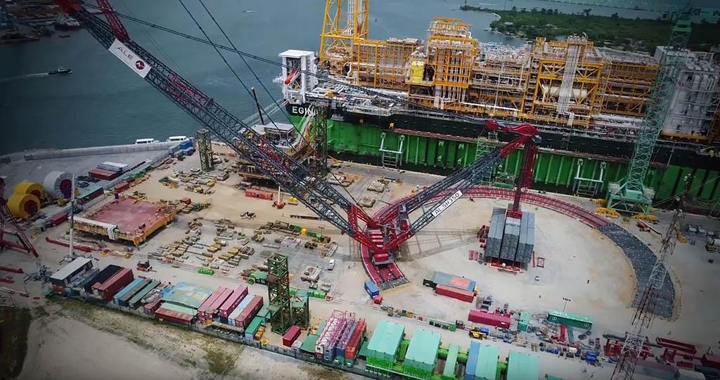 JPT ALE Completes Record Lift for Total's Egina FPSO