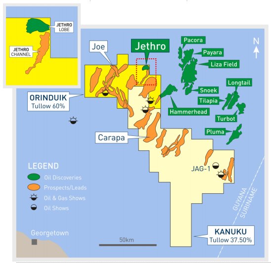 JPT Tullow Joins Guyana Success Story With Jethro Discovery