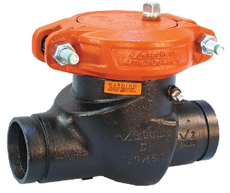 victaulics series 713 swing check valve