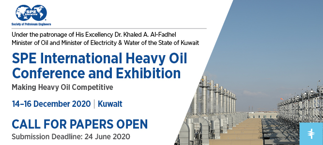 SPE International Heavy Oil Conference and Exhibition Banner