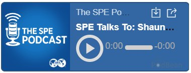 SPE Podcast link