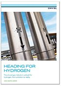 Cover of report on Heading for Hydrogen