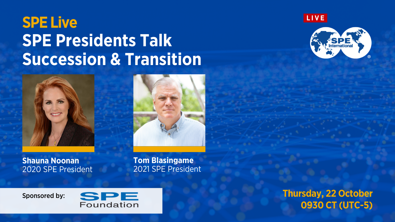SPE Presidents Talk Succession and Transition
