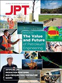 Cover of March 2019 issue of Journal of Petroleum Technology with special report on Future and Value of Petroleum Engineering