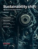 Cover of report on Sustainability Shift