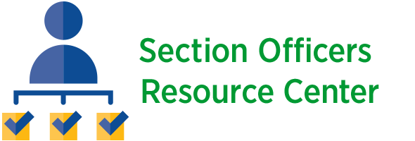 Section Officers Resource Center logo